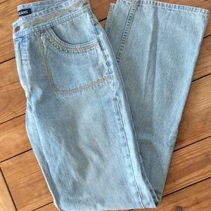 Vintage Sweet Nautica Bell Bottom Jeans Size 6
